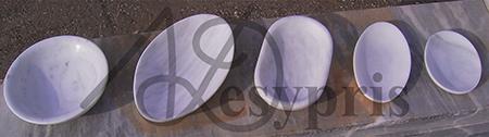 Handmade marble Platters