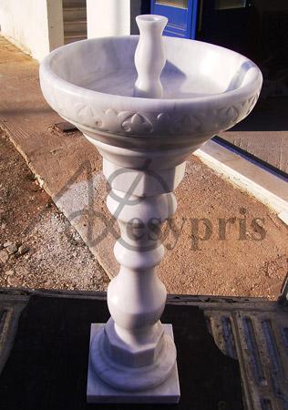 Handmade marble Candelabra
