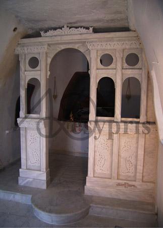 Handmade marble Iconostasis