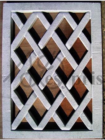 Handmade marble window